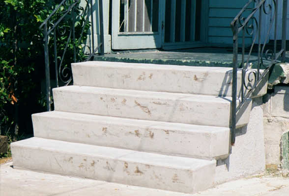 Covering Concrete Steps Precast : Home depot prefab wood steps bing images
